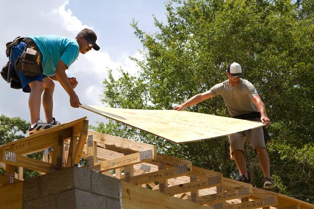tømrer tagarbejde